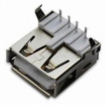 USB A Type Receptacle Angle DIP