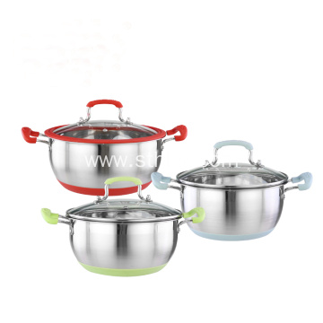 Stainless Steel Kitchen Cookwares Set Cooking Pot