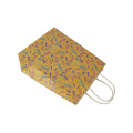 Custom Print Logo Shopping Packaging Kraft Paper Bag