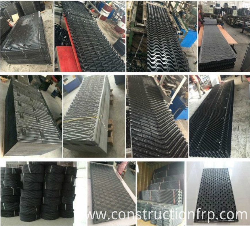 PP PVC Cooling Tower Sheets