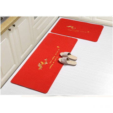Soft surface water absorbent 100% polyester mat