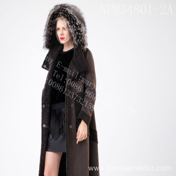 Lady Australia Merino Shearling Fur In Winter