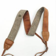 New Universal Adjustable Cotton Leather Camera Shoulder Neck Strap Belt For / Nikon SLR Cameras Strap Accessories Part