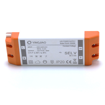 40W 12V 3A Konstantspannungs-LED-Netzteil