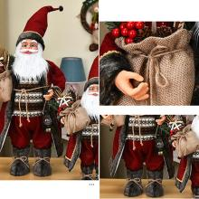 60CM Big Santa Claus Doll Children Xmas New Year Gift Christmas Tree Decor Wedding Party Supplies Christmas Decorations for Home