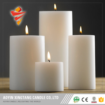 Tearless Pillar Candle with Different Colors