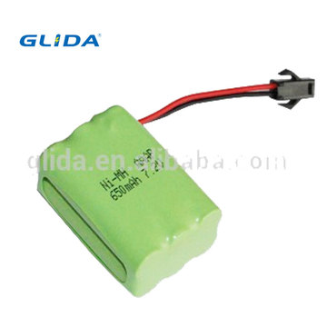 Ni-Mh Aaa 7.2V 650Mah Battery Pack Oem/Odm