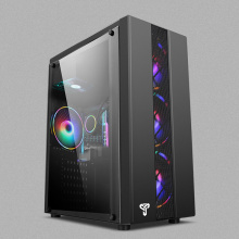 35*18*42CM Acrylic Gaming Computer case with fan water cooling PC chassis USB3.0 Side transparent gabinete gamer computadora ATX