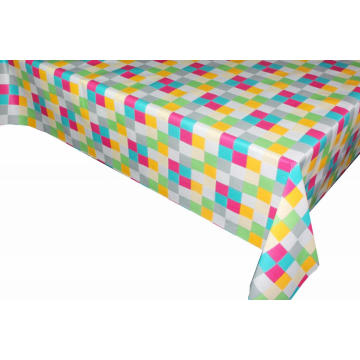 Pvc Printed fitted table covers Linens 60 Round