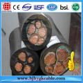 6kv 3*35mm2+3*16mm2  Flexible Rubber Cable