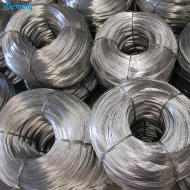 Factory Direct Hot Dipped Galvanized Plain Fence Wire
