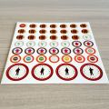 OEM printing logo table game board game pieces