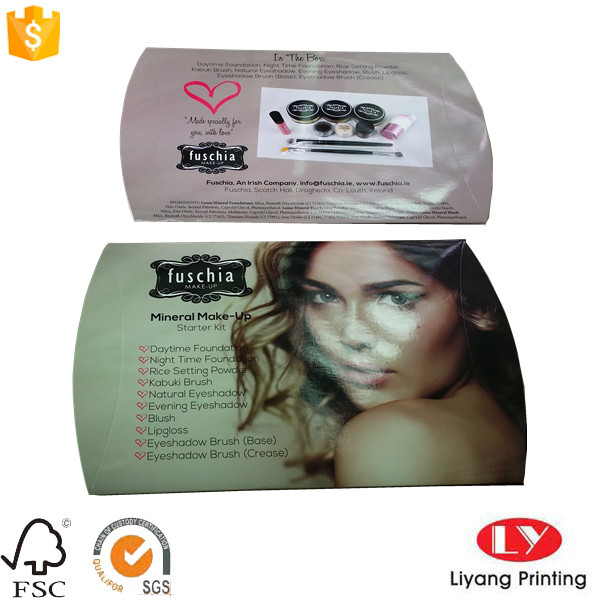 cosmetic pillow box