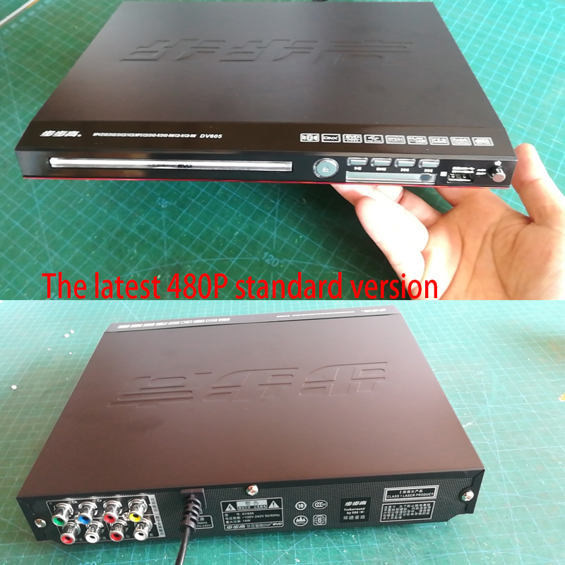 KYYSLB 605 11-19W DVD Player Home Evd Vcd Cd Player Dolby AC/3 Bluetooth Player 5.1 Channel Game Console