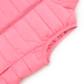 Warm Padded Vest with Stand Collar
