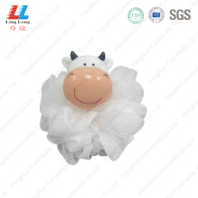 Cow style animal sponge ball