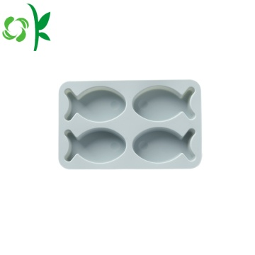 Silicone Fish Shape Chocolate Bakeware for Chocolate
