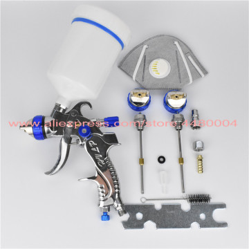 601 Spray Gun HVLP SPRAY GUN gravity feed stainless steel nozzle 1.4mm 1.7mm 2.0mm auto Car face Painting