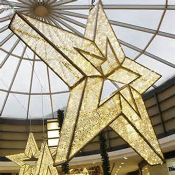 Led Outdoor 3D large christmas star lights