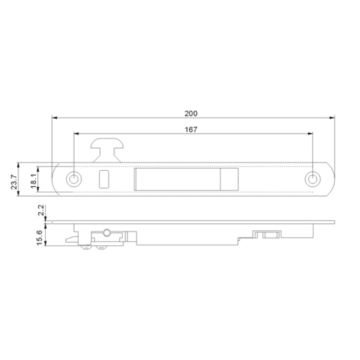 Hardware Sliding Window Lock