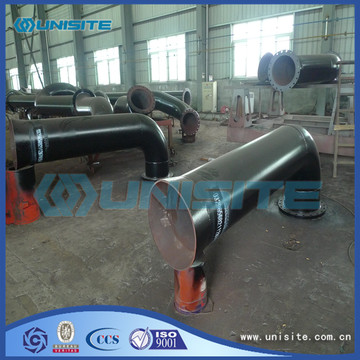 Custom steel jet pipes