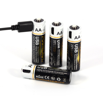 1.5v AA Battery Rechargeable