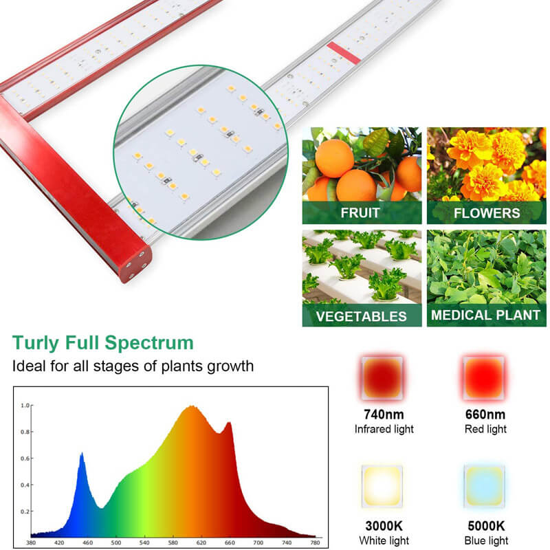 professional led grow light for medical plant