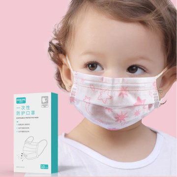 Children disposable mask face mask medical surgical mask