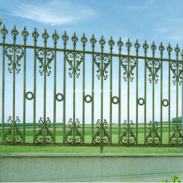 Art And Crafts Decorative Wrought Iron Fencing