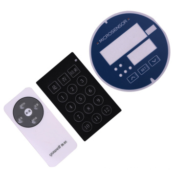 Embossed Overlay Keypad Switch
