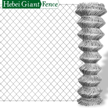 PVC Coated Diamond Woven Chain Link Fence