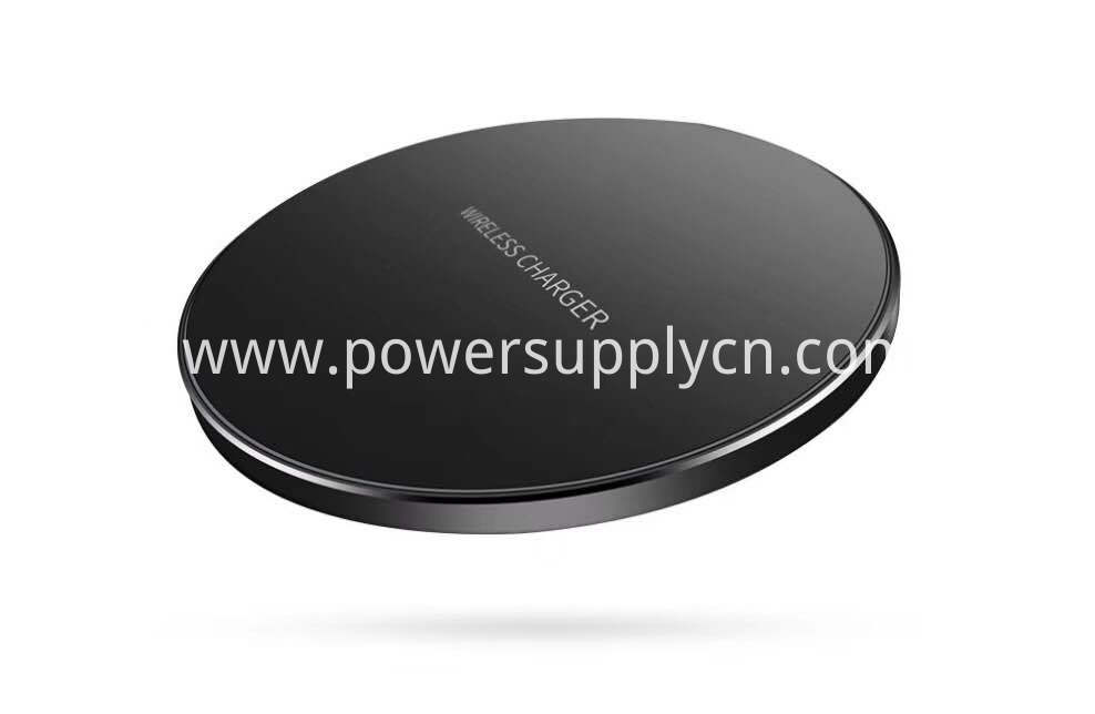 Super Slim 4 95mm Aluminium Alloy Wireless Charging Pad