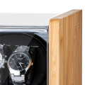 bamboo wood watch box winder