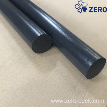 CF30 PEEK rod black