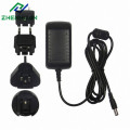 24W 24V1A Multiple Power Adapter with EU/US/UK/AU Plug