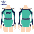 Custom crop top cheer uniform for youth