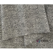 Popular Herringbone Design Alpaca Blend Fabric