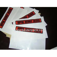 Shipping Document Enclosed Packing List Envelope