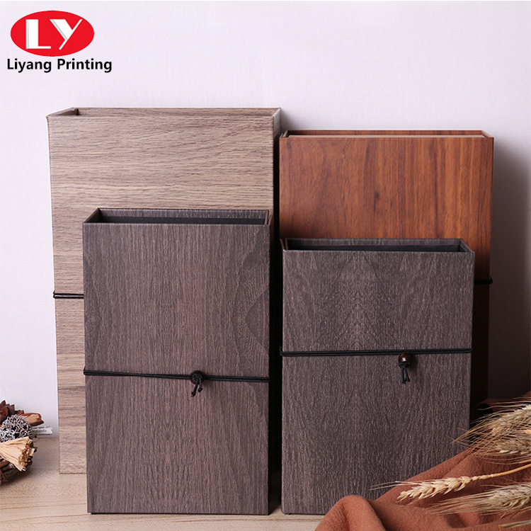 Imitation Wood Grain Paper Box