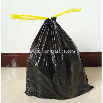 Plastic Drawstring Garbage Bag