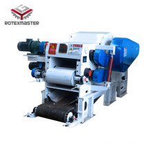 Large capacity wood log carton chipping machine
