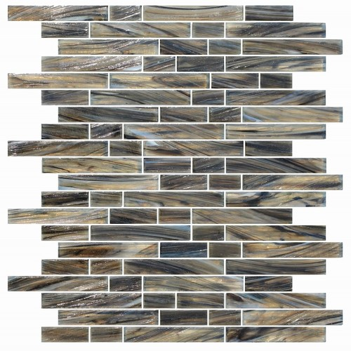 Classics mirror subway glass mosaic tile