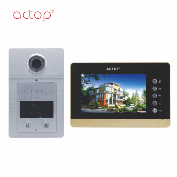 Apartment Door Video Intercom System