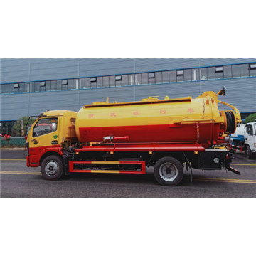 Dongfeng 85DFAC 10000L sewer cleaning truck 12000L sewage suction truck