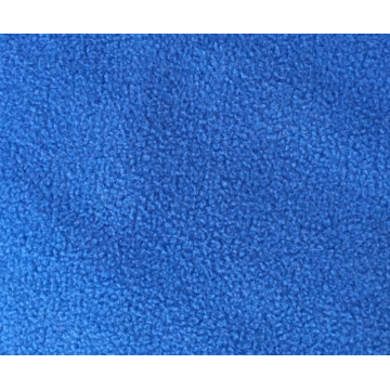 Polyester dyed micro bonded polar fleece fabric