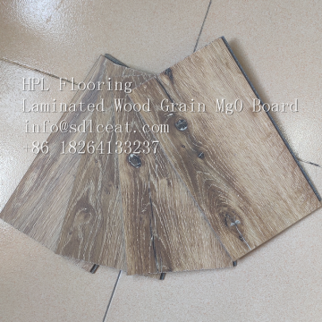 high-pressure laminated mgo wood grain flooring tile
