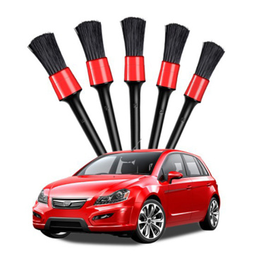 1/5pcs Car Detailing Brush Auto Cleaning Car Cleaning Detailing Set Dashboard Air Outlet Clean Brush Tools Car Wash Accessories