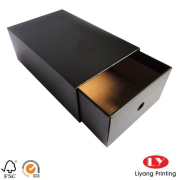 Custom made packaging paper sliding drawer box