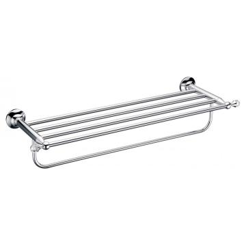 Classic luxury Chrome Double Towel rack