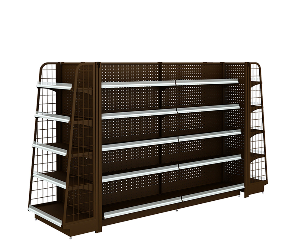 Metal Display Shelving